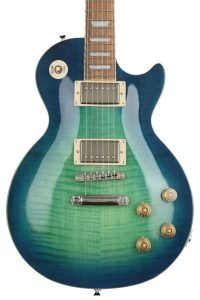 Epiphone Limited Edition Les Paul Tribute Plus Outfit - Aquamarine - Sweetwater Exclusive electric guitar