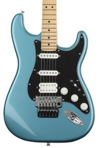 Fender Player Stratocaster HSS with Floyd Rose - Tidepool with Maple Fingerboard electric guitar