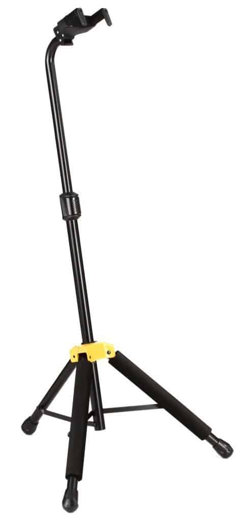 Hercules Stands GS414B PLUS Single Guitar Stand with Auto Grip System