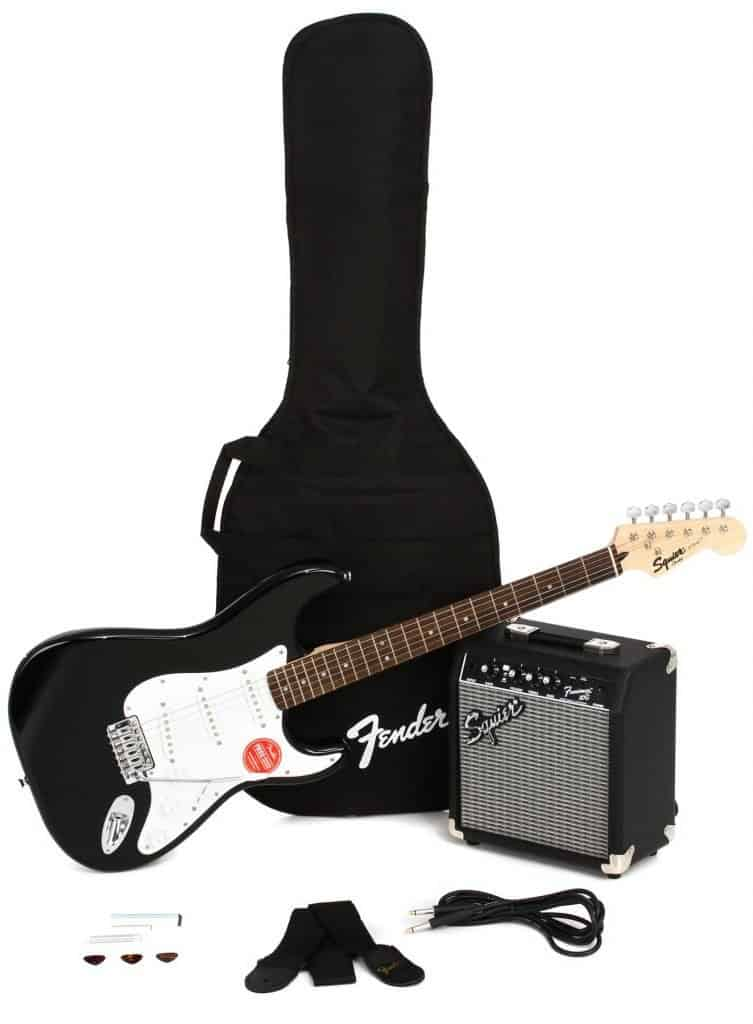 Squier Stratocaster Pack (Black)