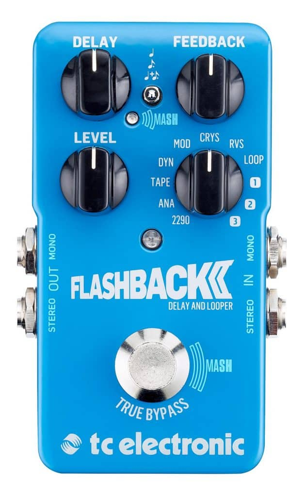The Flashback 2 delay pedal by TC Electronic