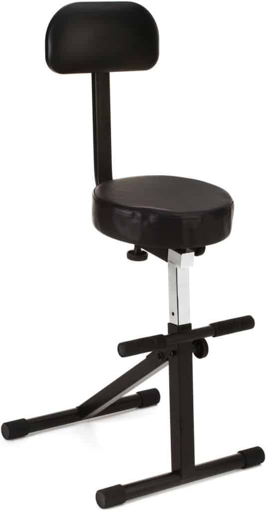 On-Stage DT8500 Throne guitar chair