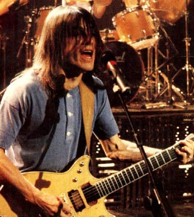 ACDC playing live.