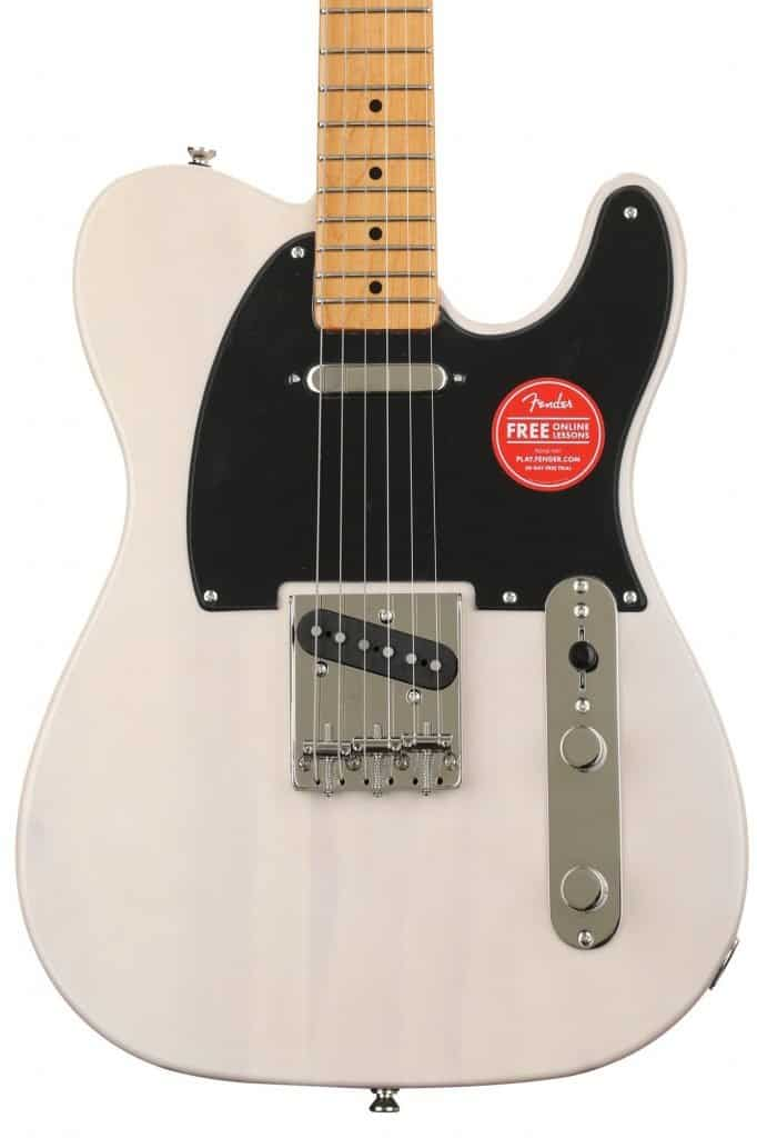 The Classic Vibe '50s Telecaster. A Fender Squire electric guitar.